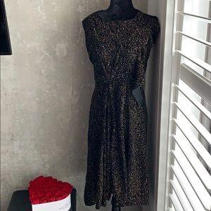YSL rive gauche crystal dress